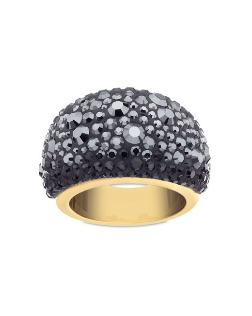 Swarovski | Black Mini Chic Ring - Size 52 (us 6) | Lyst