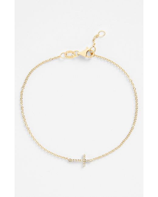 Bony Levy | Yellow Etched Link Bracelet (nordstrom Exclusive) | Lyst