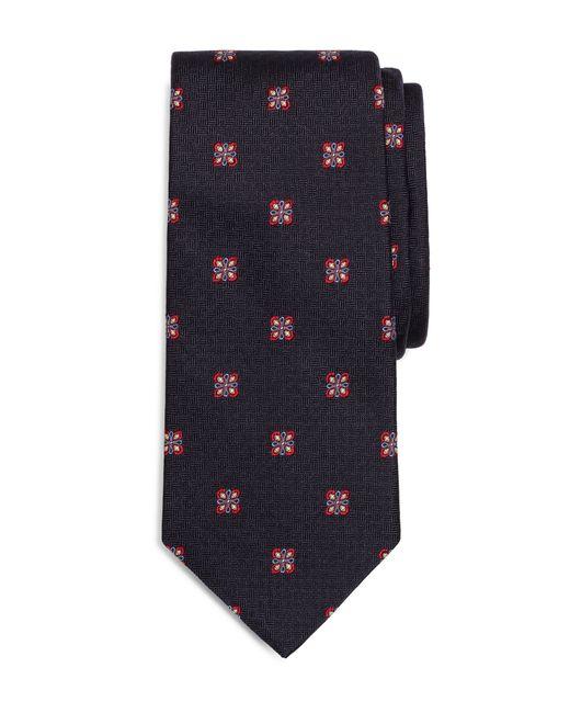 Brooks Brothers   Blue Parquet Square Medallion Tie for Men   Lyst