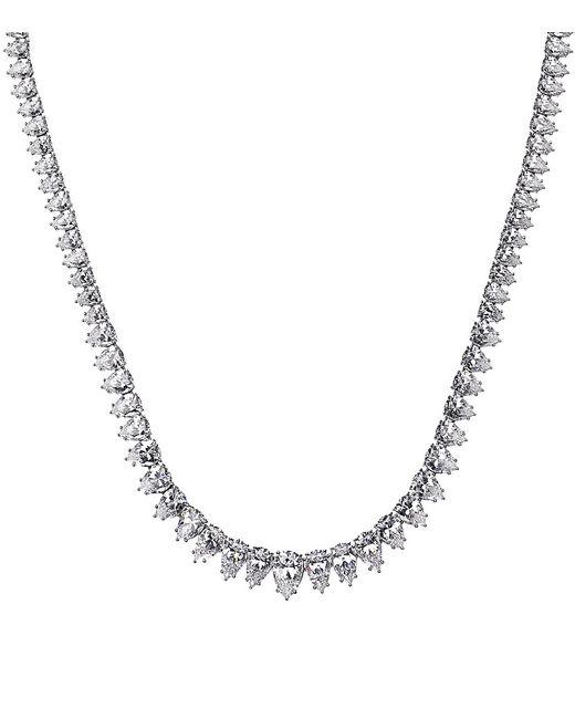 Carat* | Metallic Pointed Diamond Necklace | Lyst