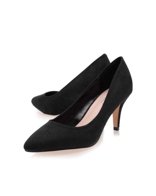 Carvela Kurt Geiger   Black Kairo Mid Heel Court Shoes   Lyst
