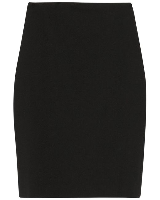 Alexander McQueen | Pleated Midi Skirt With Sheer Lace Inserts - Black | Lyst