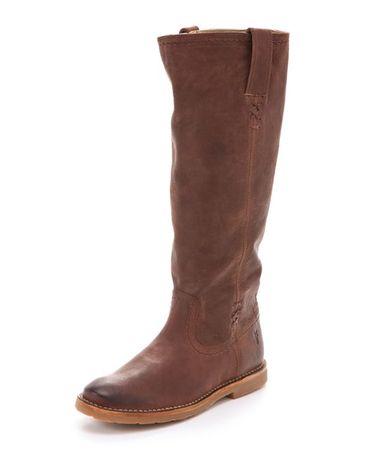 Frye | Brown Wyatt Harness Boot | Lyst