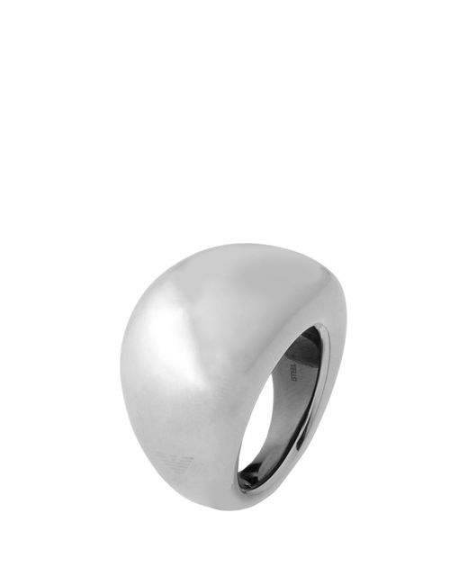Emporio Armani | Metallic Ring | Lyst