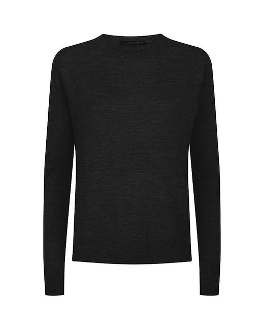 The Row | Black Ghent Sweater | Lyst