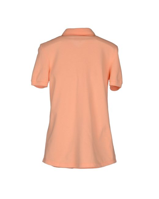 Jeckerson Polo Shirt In Pink Salmon Pink Save 75 Lyst