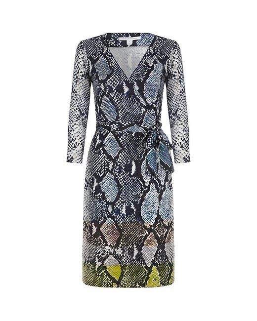 Diane von Furstenberg | Multicolor Fleurette Silk Dress | Lyst