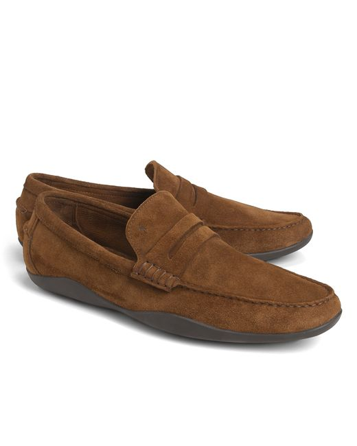 Brooks Brothers | Brown Harrys Of London® Basel Penny Loafers for Men | Lyst