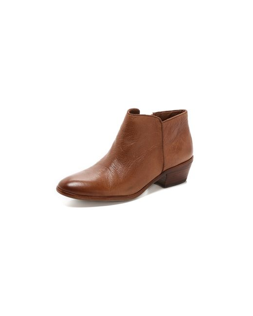 Sam Edelman | Brown Petty Suede Ankle Boots | Lyst