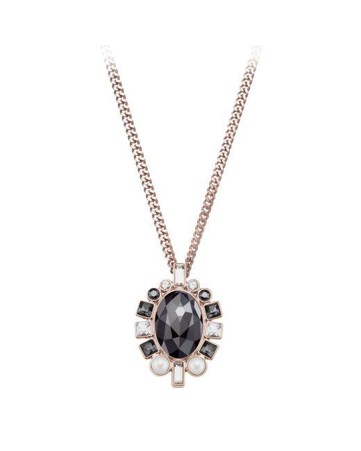 Swarovski | Black Venetie Small Pendant | Lyst