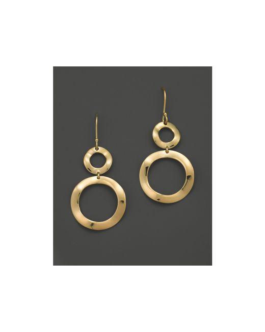 Ippolita | Metallic 18k Gold Snowman Earrings | Lyst