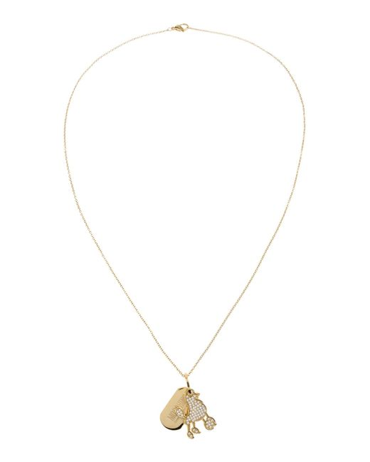 Boutique Moschino | Metallic Necklace | Lyst
