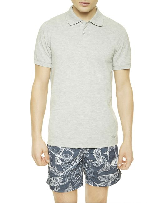 La Perla   Gray Polo Shirt for Men   Lyst