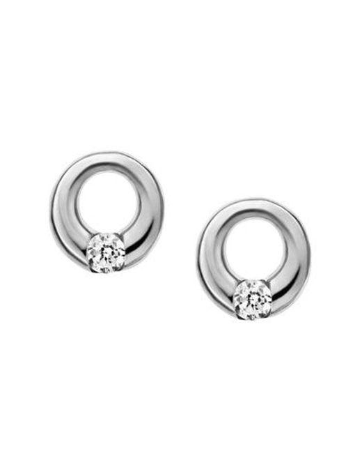 Skagen | Metallic Skj0311040 Womens Earrings | Lyst