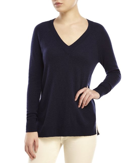 V Neck Tunic Sweater 65