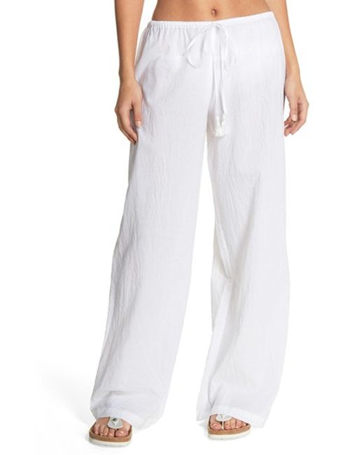 Tommy Bahama Cover Up Pants In White Lyst