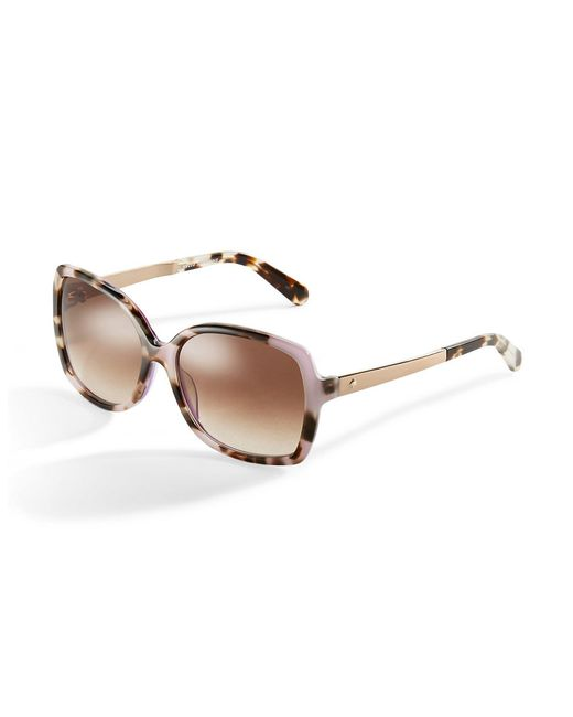 Kate Spade | Pink Darilynn Rectangle Sunglasses | Lyst