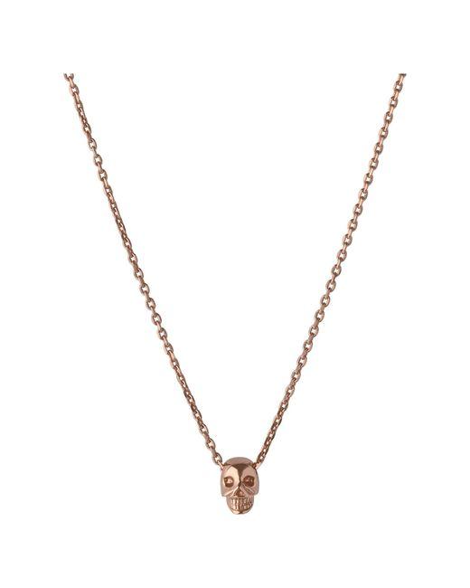 Links of London | Metallic Mini Skull Pendant Necklace | Lyst
