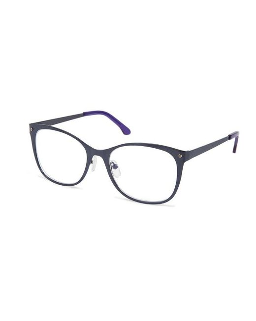 rowley eyewear cynthia cr5003 no 87 navy square metal