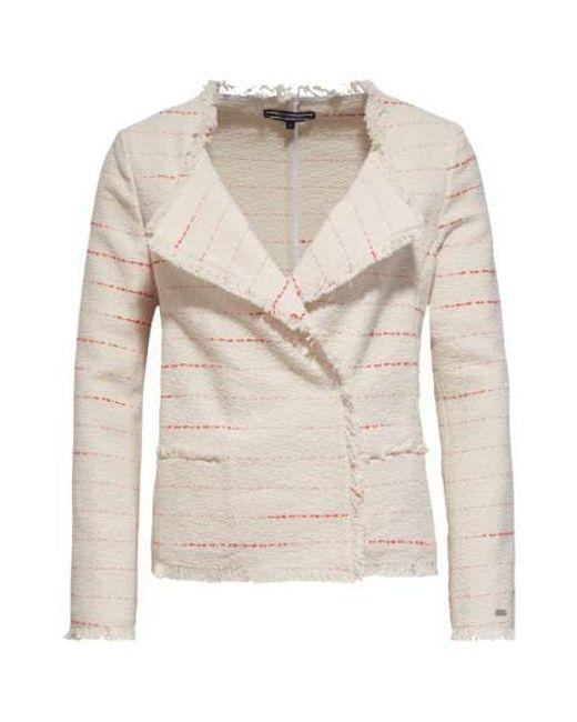 tommy hilfiger jill jacket in beige cream save 50 lyst. Black Bedroom Furniture Sets. Home Design Ideas