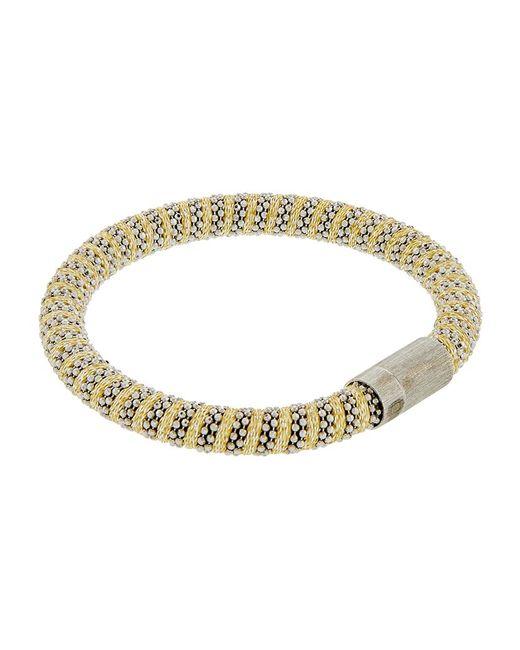 Carolina Bucci | Metallic Twister Bracelet Silver | Lyst