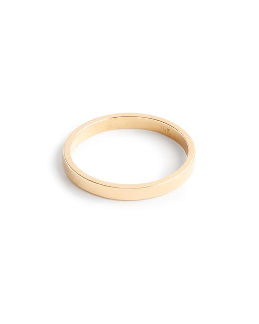 J.Crew   Yellow Brvtvs Thin 14k Gold Ring   Lyst