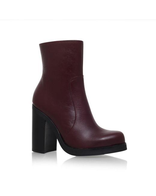 Carvela Kurt Geiger | Red Spirit High Heel Boots | Lyst