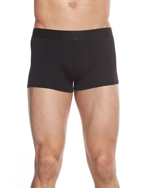 Naked | Black Signature Modal & Cotton Trunks for Men | Lyst