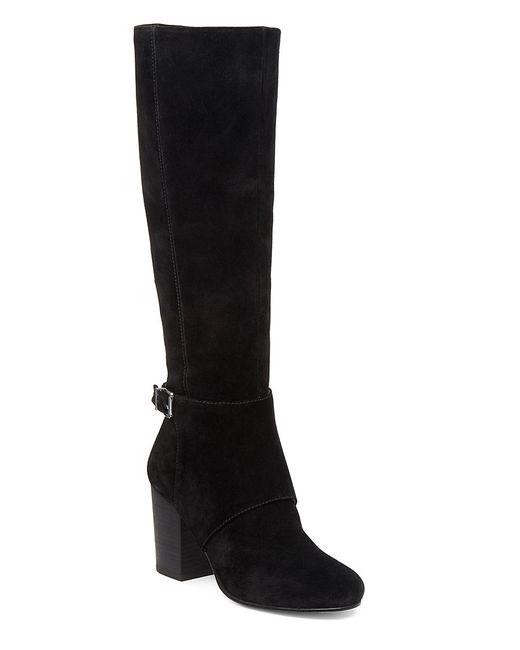 BCBGeneration | Black Denver Suede Knee-high Boots | Lyst