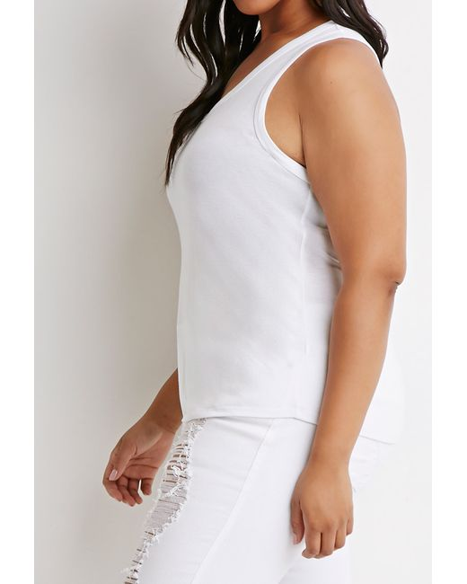 Forever 21 | White Classic Tank | Lyst