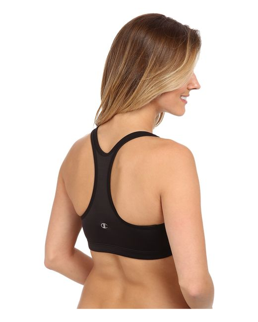 Champion | Black Shape® T-back Sports Bra | Lyst