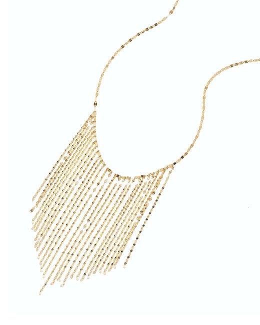 Lana Jewelry | Metallic 14k Long Fringe Necklace | Lyst
