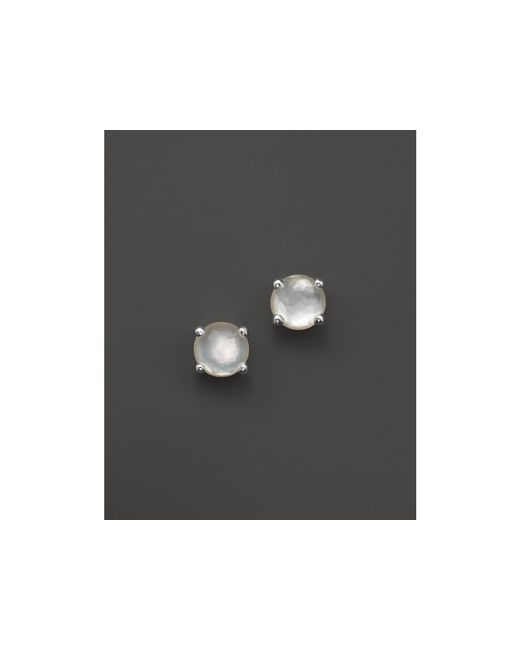 Ippolita | White Rock Candy Mini Stud Earrings In Mother-of-pearl | Lyst