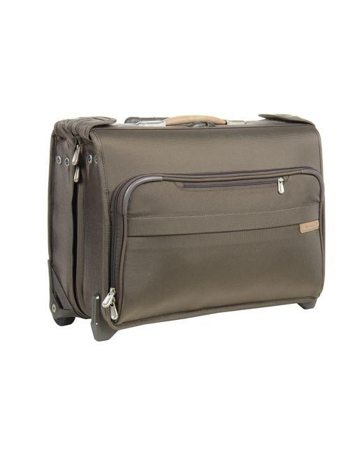 Briggs & Riley | Green Baseline Carry-on Wheeled Garment Bag 2 | Lyst