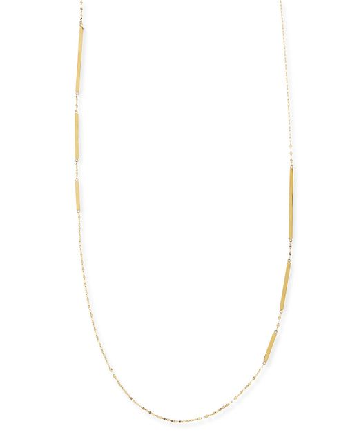 Lana Jewelry | Metallic 14k Gold Dash Layer Necklace | Lyst
