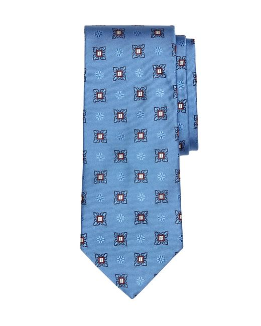 Brooks Brothers | Blue Large Spaced Medallion Tie for Men | Lyst