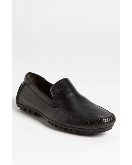 Bacco Bucci | Black 'enrico' Driving Shoe for Men | Lyst