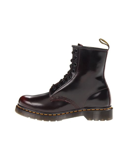 Photography of Dr Martens 1460 W Cherry Red Arcadia