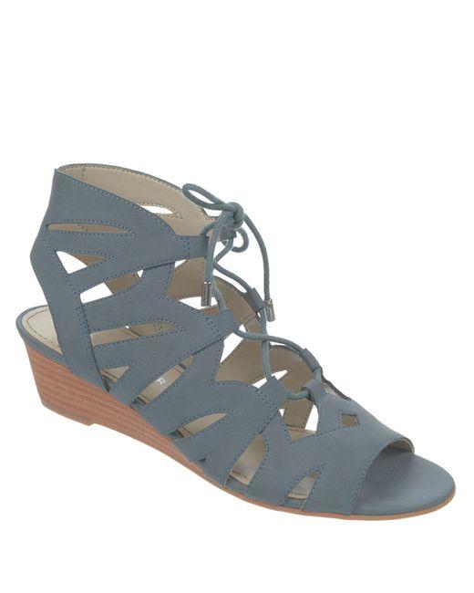 Franco Sarto | Blue Upstart Sandals | Lyst