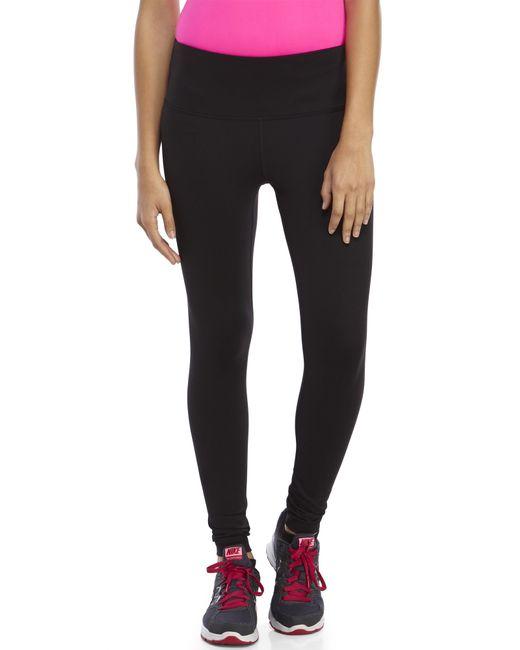 90 Degree By Reflex   Black High Waist Slimming Leggings   Lyst