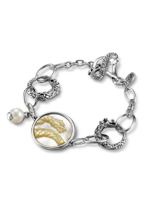 John Hardy   Metallic Dragon Link Bracelet   Lyst
