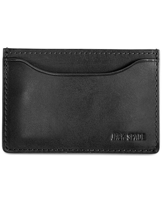 Jack Spade | Blue Mitchell Leather Credit Card Holder for Men | Lyst