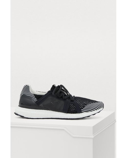 9adebdc36 Adidas By Stella McCartney - Black Ultraboost S Sneakers - Lyst ...