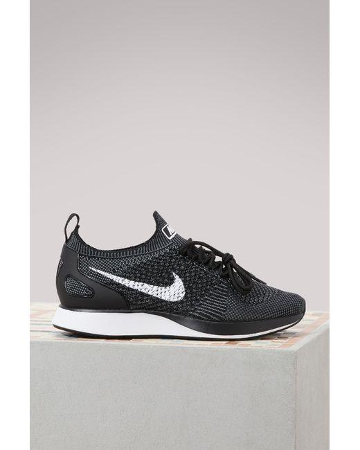d4bdaf9fb62c Nike - Gray Air Zoom Mariah Flyknit Racer Sneakers - Lyst ...