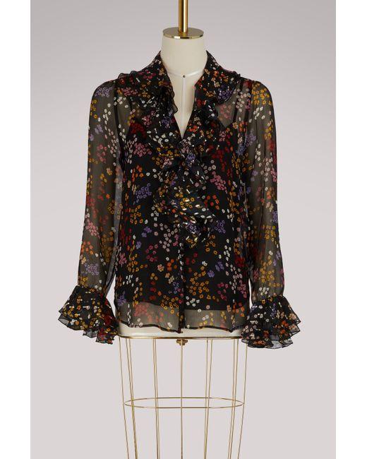 See By Chloé - Black Wool Sleeveless Coat - Lyst
