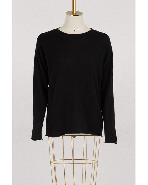 Sofie D'Hoore - Black Ycash Cashmere Sweater - Lyst