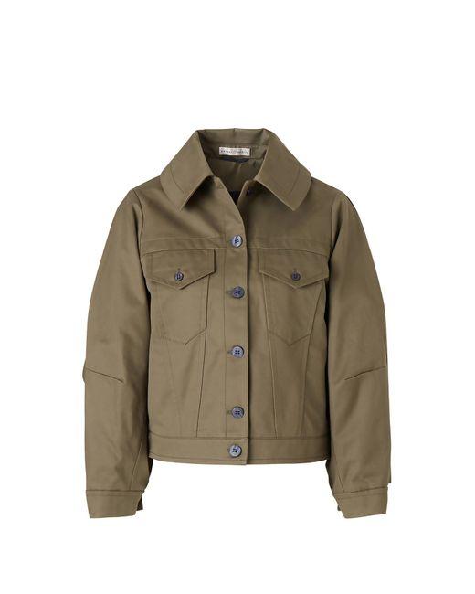 Palmer//Harding Green Blended Cotton Jacket