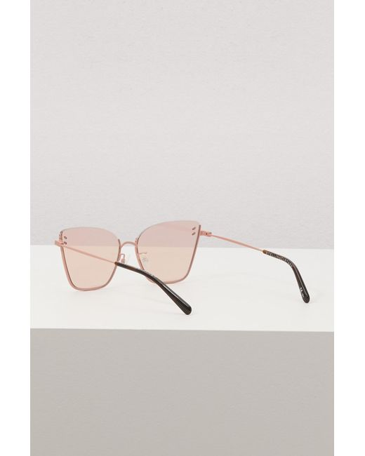 3c35ba3024f ... Stella McCartney - Natural Stella Essentials Sunglasses - Lyst ...