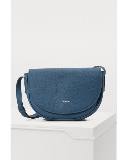 Repetto - Blue Quadrille Crossbody Bag - Lyst