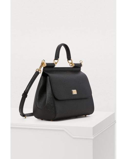 a58645385026 ... Lyst Dolce   Gabbana - Black Sicily Mm Bag ...